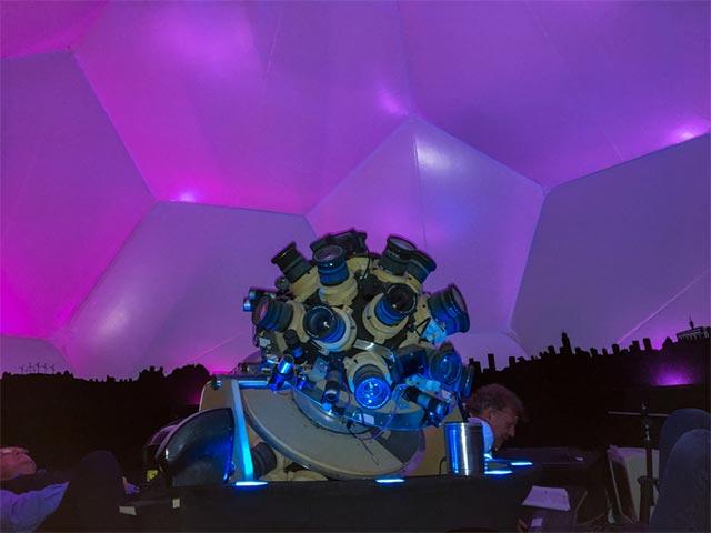 Concordia zu Besuch in der Sternenwarte