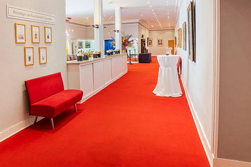 Eventlocation Wuppertal Foyer Ansicht