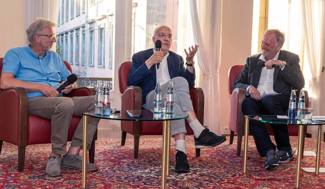 Journalistenlegende Fritz Pleitgen Talk in der Concordia